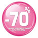 Etiquettes à trou rondes -70%