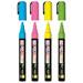 Marqueurs craie fluo illumigraph