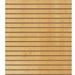 Panneaux rainurés Hêtre naturel, entraxe 7,5 cm