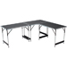 Lot de 3 tables pliantes