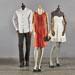 Mannequin femme vintage sans bras