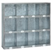 Meuble 12 casiers métal