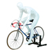 Mannequin homme cycliste