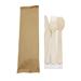 Kit 3 couverts + 1 serviette