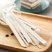 Agitateurs en bois en sachet papier individuel