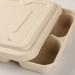 Couvercle pour plateaux repas en bagasse
