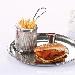 Panier à frites individuel de présentation