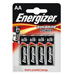 Piles alcalines LR06 AA Energizer power
