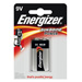 Piles alcalines 6LR61 9V Energizer power