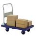 Chariot plate-forme pliable, roue de 5 pouces
