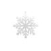 Flocon de neige à suspendre