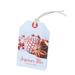 Étiquettes cadeaux à fil Joyeuses Fêtes