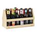 Boîtages bois pour bières hautes et larges