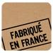 Étiquettes cadeaux adhésives Fabriqué en France