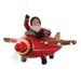 Avion du Père Noël Joyeux Noël