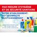 Pancarte Mesures d'hygiène