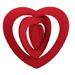 Coeur 3D à suspendre