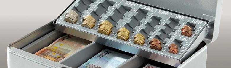Caisses à monnaie