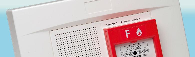 Détecteurs de fumée/Alarmes feu