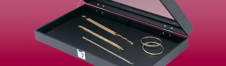 Crins et coffrets pr sentoirs bijoux porte bijoux - Presentoir bijoux professionnel ...