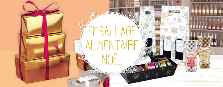 Emballage alimentaire Noël