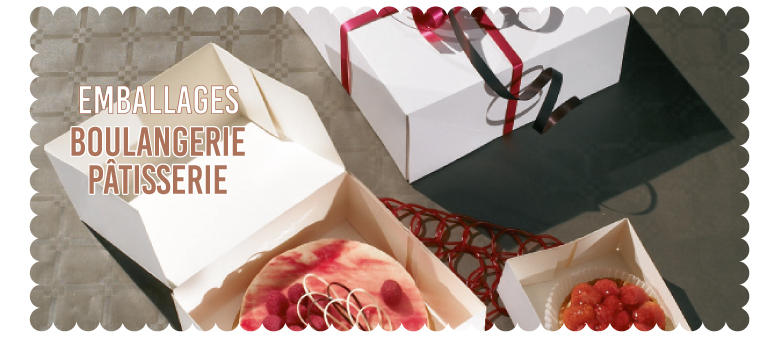 Emballages Boulangerie/Pâtisserie