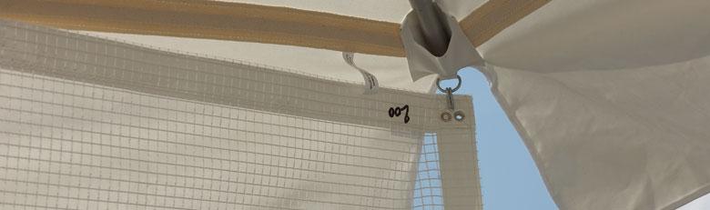 entourage de parasol rideau parasol parasol forain rouxel. Black Bedroom Furniture Sets. Home Design Ideas