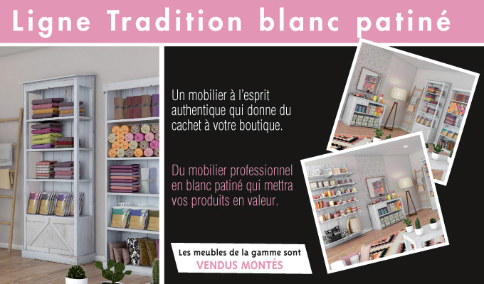 Ligne Tradition Blanc patiné