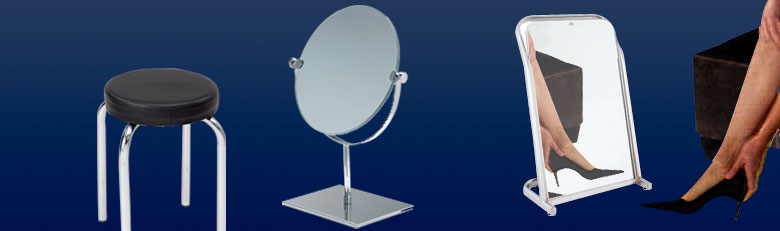 Miroirs d'essayage
