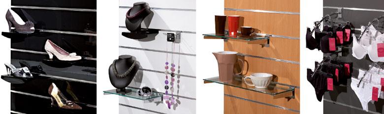 Panneaux rainurés et accessoires