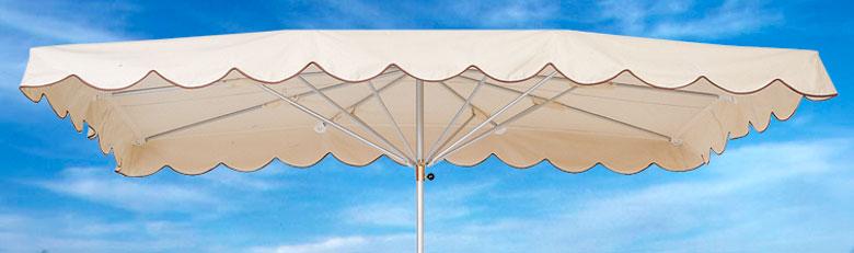 Parasols de marché