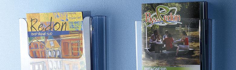 Porte-brochures muraux
