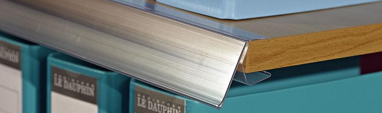 Porte-étiquettes pour tablettes