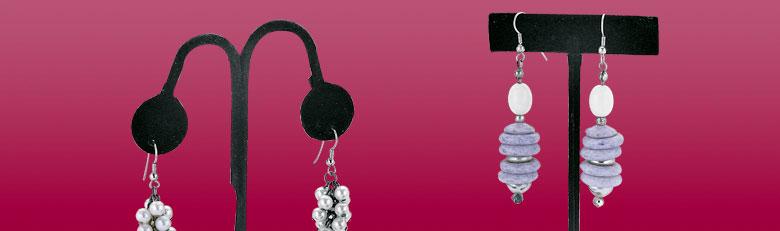 Présentoirs boucles d'oreilles