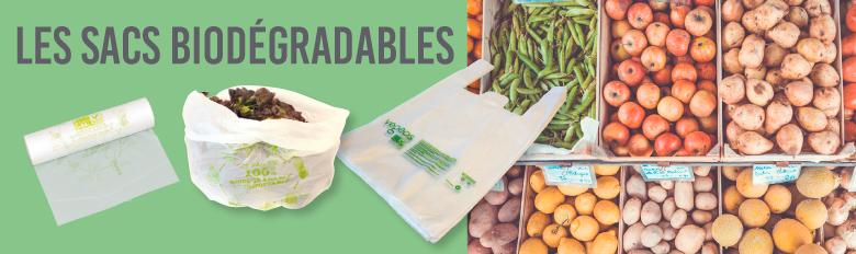 Sacs plastique biodégradables