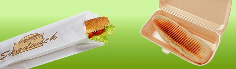 Sacs sandwichs et paninis