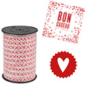 Bolducs et étiquettes St Valentin