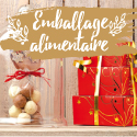 Emballages alimentaires Noël