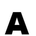 Lettres et chiffres adhésifs noirs H 150 mm