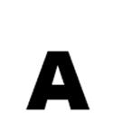 Lettres et chiffres adhésifs noirs H 90 mm