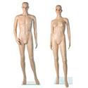 Mannequins plastique sans perruque