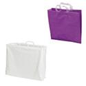 Sacs plastique unis, poignées rapportées