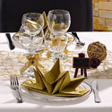 Table Noël Raffiné