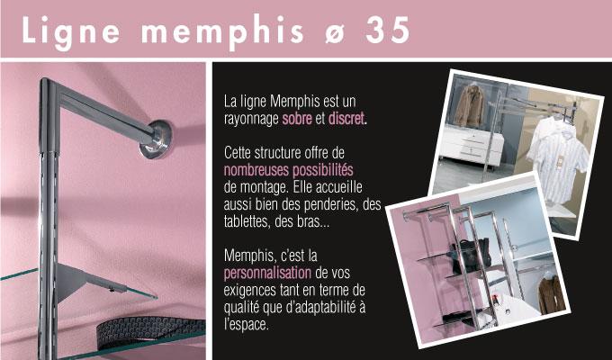 Ligne Memphis - Diam. 35 mm