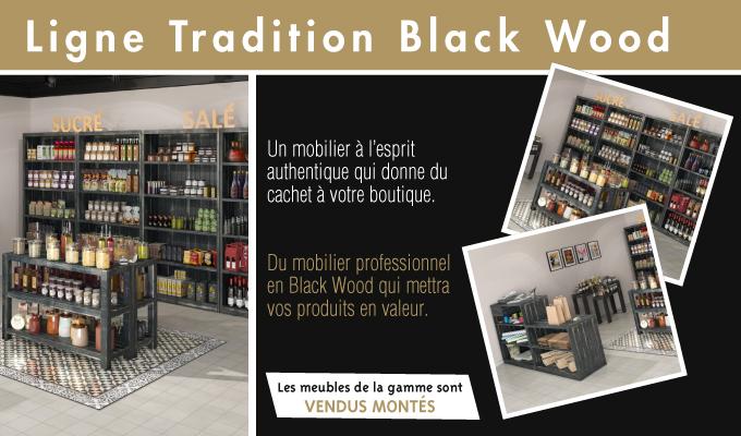 Ligne Tradition Black wood