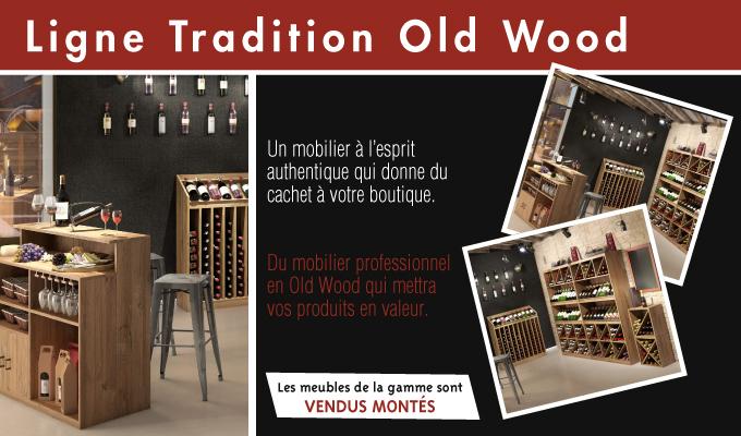 Ligne Tradition Old wood