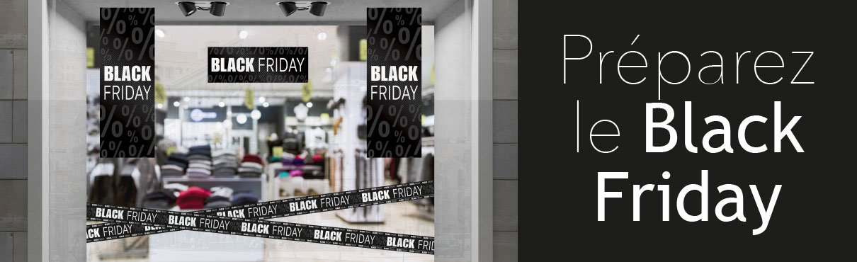 Affiches Black Friday