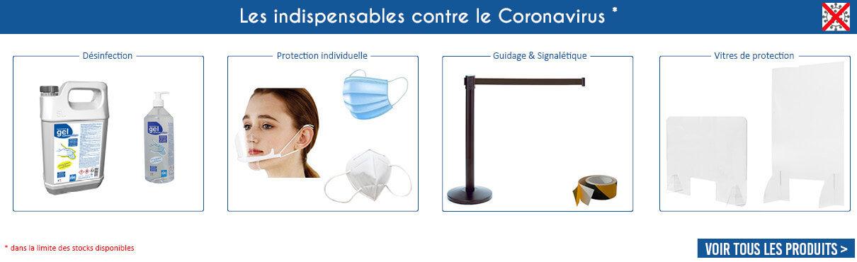 Les indispensables contre le Coronavirus