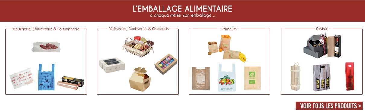 L'EMBALLAGE ALIMENTAIRE : à chaque métier son emballage