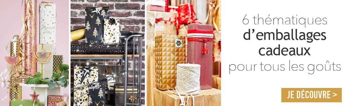 Emballage cadeaux de Noël 2019